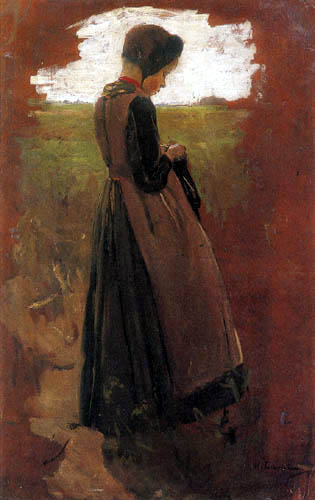 Max Liebermann - Girl from Laren