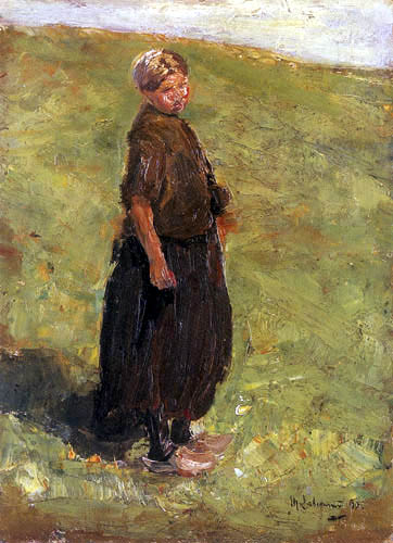 Max Liebermann - Girl in the dune