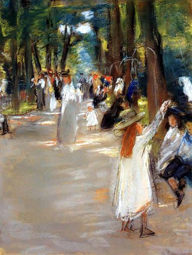 Max Liebermann - Parrot avenue