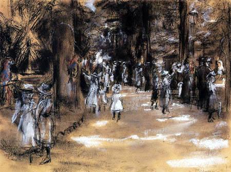 Max Liebermann - Avenue de perroquet
