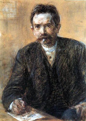 Max Liebermann - Porträt Eduard Grisebach