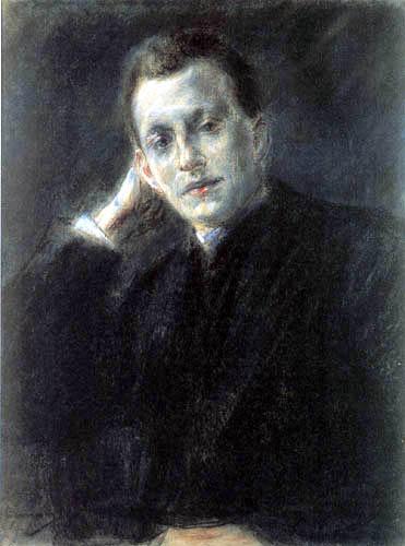 Max Liebermann - Bildnis Gerhart Hauptmann