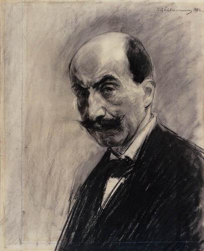 Max Liebermann - Autoportrait