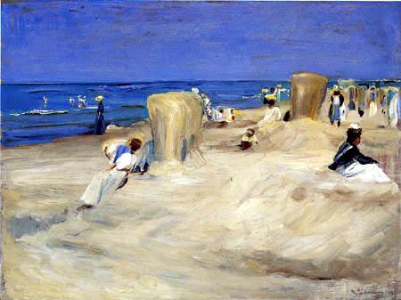 Max Liebermann - Beach near Noordwijk