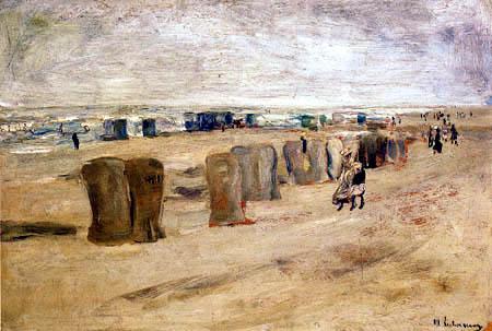 Max Liebermann - Strand in Noordwijk