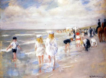 Max Liebermann - Strand in Scheveningen