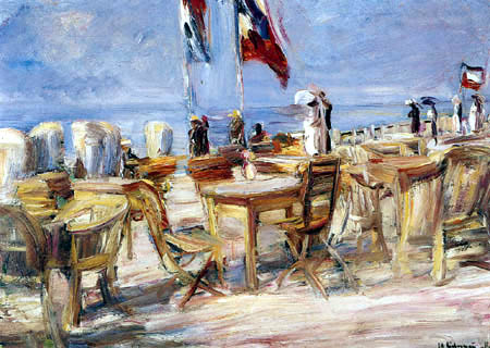 Max Liebermann - Beach terrace