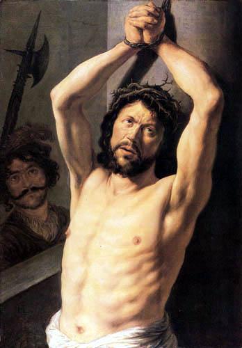 Jan Lievens (Livens) - Christus an der Geisselsäule