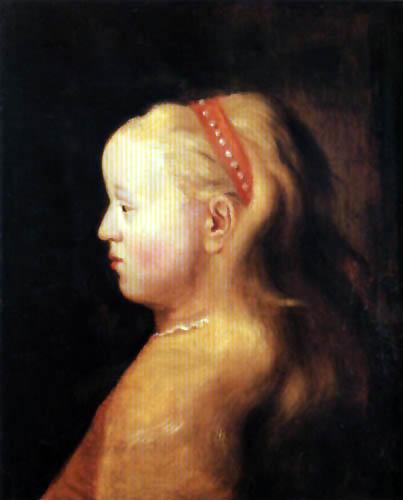 Jan Lievens (Livens) - Portrait of a Girl