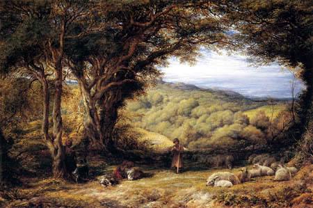 John Linnell - Under the Hawthorn