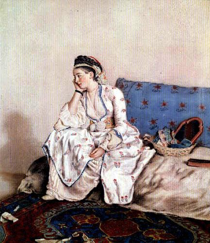 Jean-Etienne Liotard - Mary Gunning