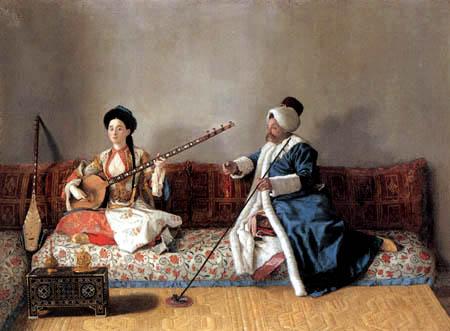 Jean-Etienne Liotard - Oriental Music