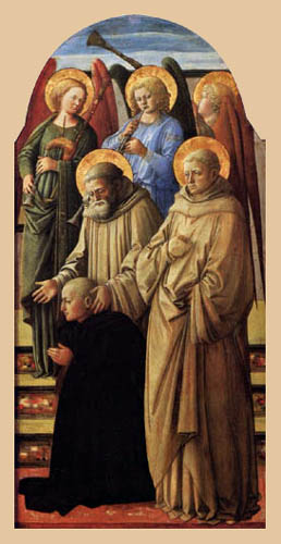 Fra Filippo Lippi - Coronation of Maria
