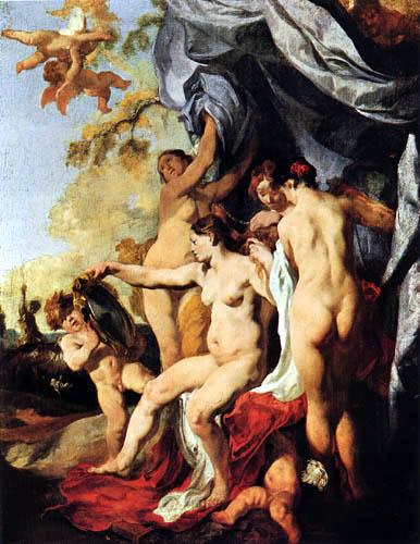 Johann (Jan) Liss (Lys, Lis) - Venus beim Frisieren