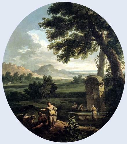 Andrea Locatelli - Roman landscape