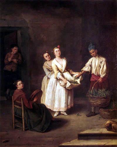 Pietro Longhi - The vegetables dealers