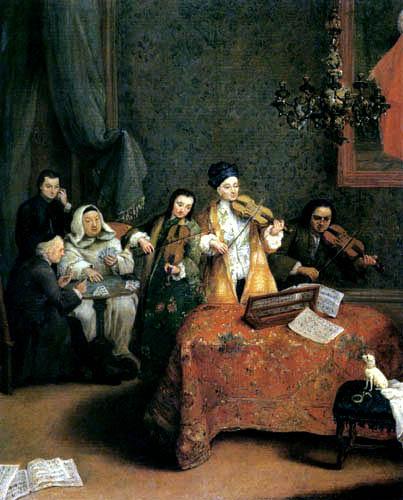 Pietro Longhi - Das Hauskonzert