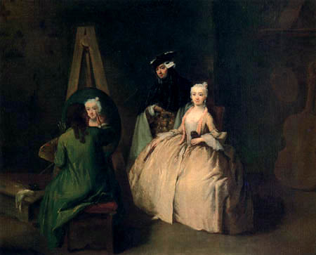 Pietro Longhi - Studio of the painter