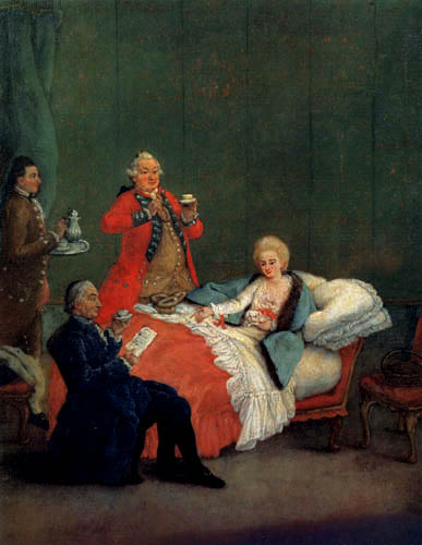 Pietro Longhi - The morning chocolate