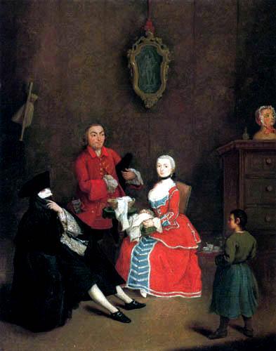 Pietro Longhi - The Visit