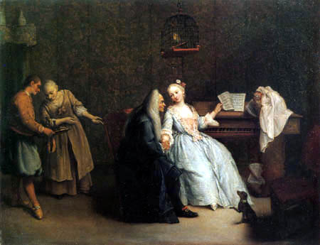Pietro Longhi - Music lesson