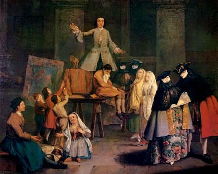 Pietro Longhi - Il cavadenti