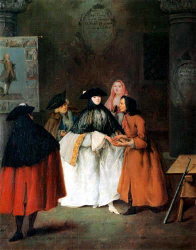 Pietro Longhi - Fortuneteller