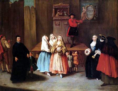 Pietro Longhi - Il casotto del Borgogna
