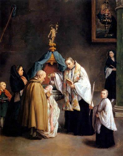 Pietro Longhi - Die Taufe