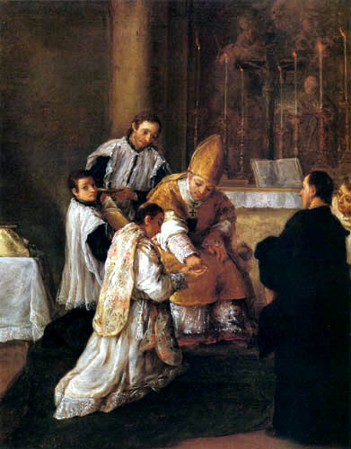 Pietro Longhi - El ordine sacro