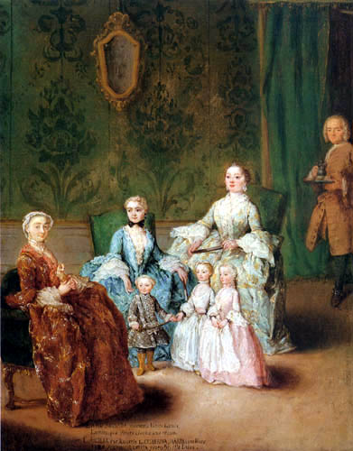 Pietro Longhi - The Family Sagredo