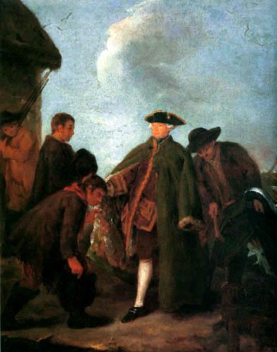 Pietro Longhi - The arrival