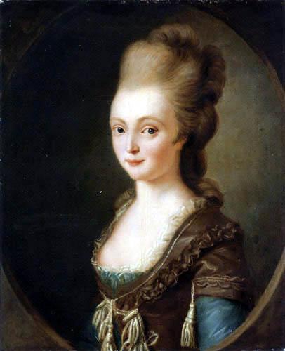 Charles Amédéé Philippe van Loo - Portrait d'une dame