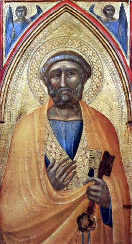 Pietro Lorenzetti - Der hl. Petrus