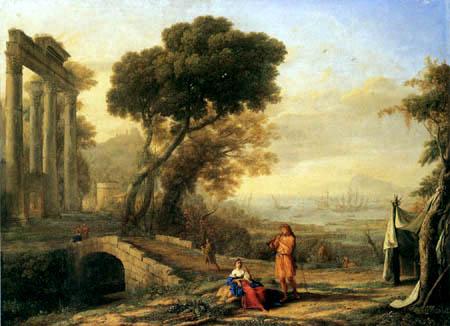 Claude de Lorraine - Paysage italienne