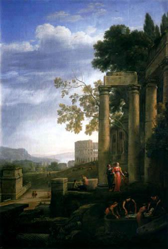 Claude Lorrain - Die Grablegung der hl. Seraphia