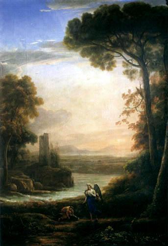 Claude Lorrain - Tobias und der Erzengel Raphael