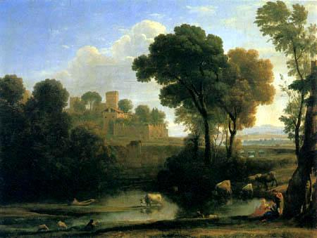 Claude de Lorraine - Paysage italien