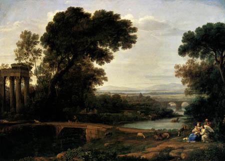 Claude de Lorraine - Le Repos pendant la fuite en Égypte