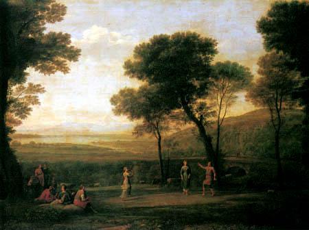 Claude de Lorraine - Landschaft mit Tanzenden
