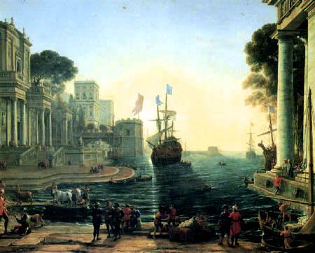 Claude de Lorraine - Odysseus und Chryseis