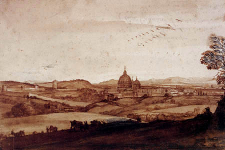 Claude Lorrain - Sankt Peter, Rom