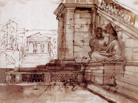 Claude Lorrain - Senatorenpalast, Rom