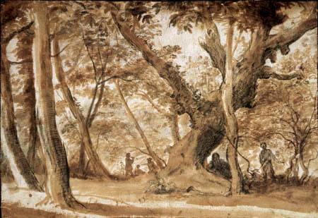 Claude Lorrain - Forest landscape