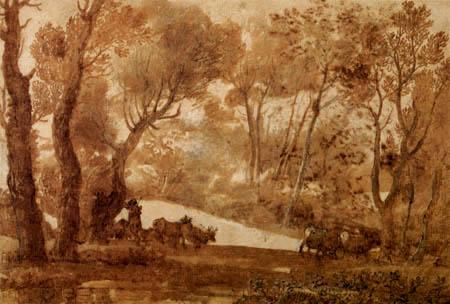 Claude Lorrain - Hirtenlandschaft