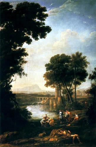 Claude de Lorraine - Moïse sauvé des eaux