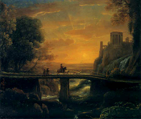 Claude de Lorraine - Ritt nach Tivoli