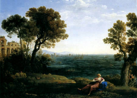 Claude Lorrain - Ariadne and Bacchus on Naxos