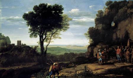 Claude de Lorraine - David sacrifie l'eau