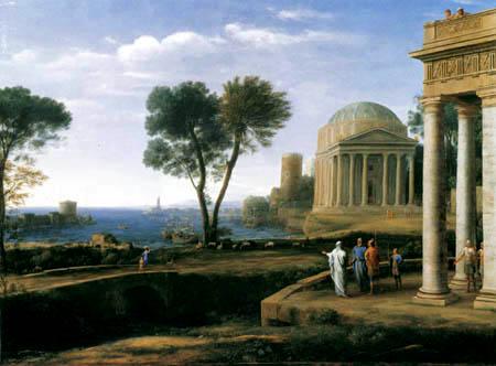 Claude Lorrain - Aeneas auf Delos